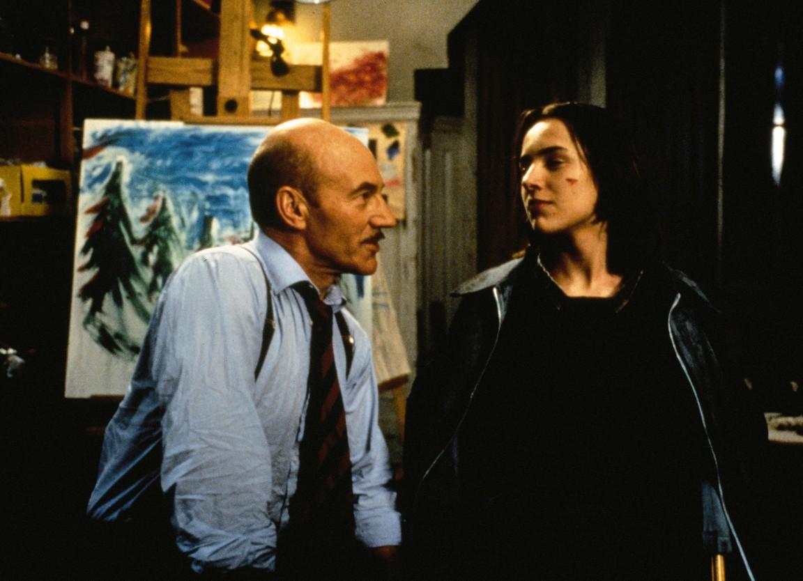 Patrick Stewart and Vincent Kartheiser in Masterminds (1997)
