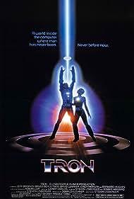 Jeff Bridges, Dean Edward Mitzner, and Cindy Morgan in TRON (1982)