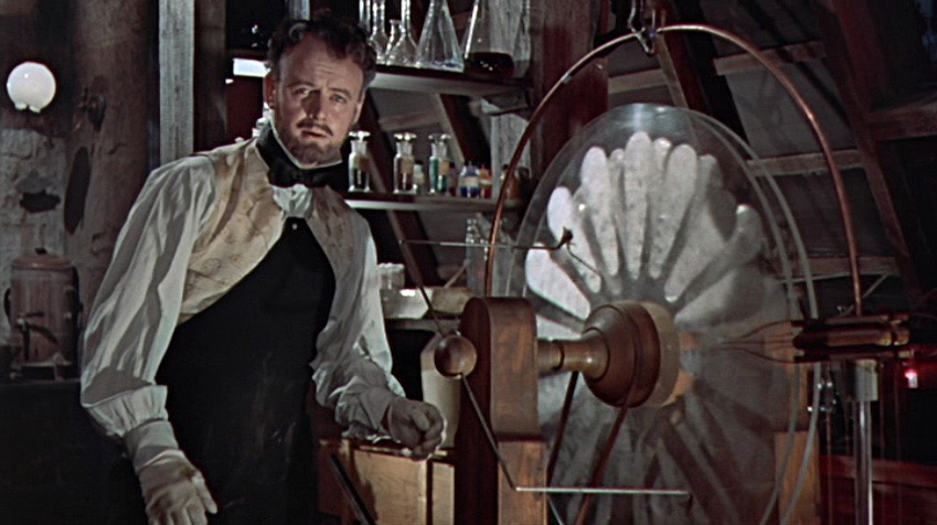 Robert Urquhart in The Curse of Frankenstein (1957)