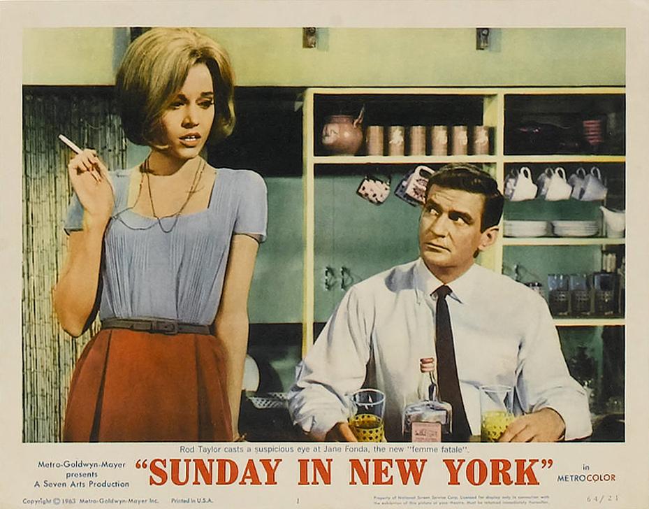 Sunday in New York (1963) - IMDb
