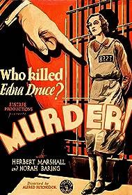 Murder! (1930) Poster - Movie Forum, Cast, Reviews