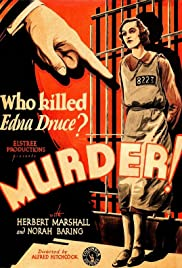 Murder!(1930) Poster - Movie Forum, Cast, Reviews
