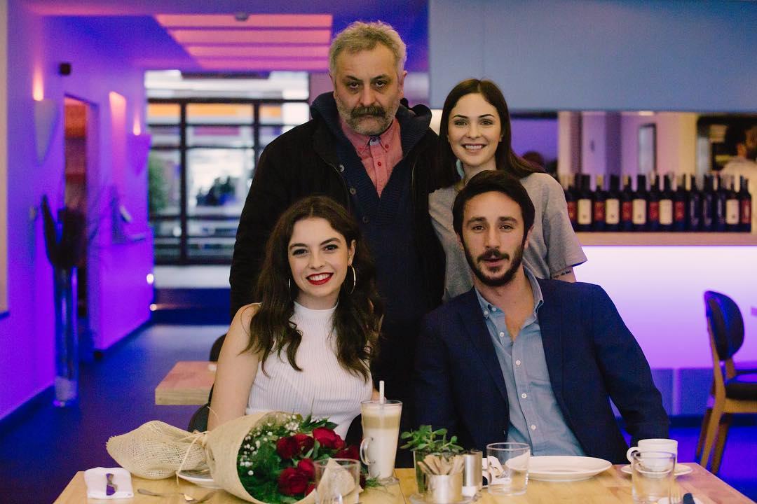 Selin Türel, Ahmet Rifat Sungar, Onur Ünlü, and Melis Sezen in Içten Sesler Korosu (2019)