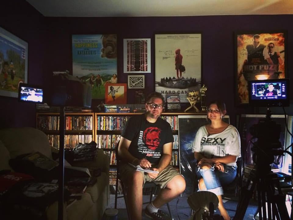 Ryan Stockstad and Elissa Cohn in Pop Culture Beast's Halloween Horror Picks (2014)
