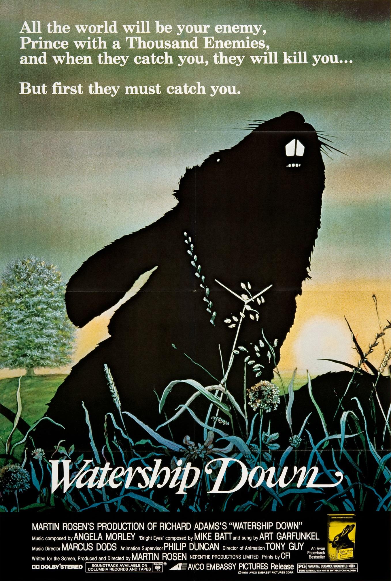 PABĖGIMAS Į VANDENS TELKINĮ (1978) / Watership Down