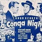 Hugh Herbert, Armida, Joe Brown Jr., Constance Moore, and Dennis O'Keefe in La Conga Nights (1940)