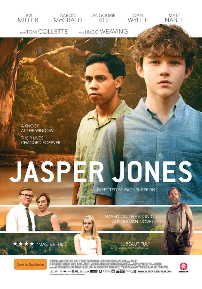Toni Collette, Hugo Weaving, Dan Wyllie, Angourie Rice, Aaron L. McGrath, and Levi Miller in Jasper Jones (2017)