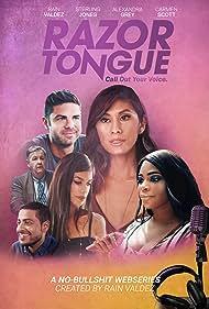 Sterling Jones, Shaan Dasani, Carmen Scott, Rain Valdez, Randy Aronson, and Alexandra Grey in Razor Tongue (2019)