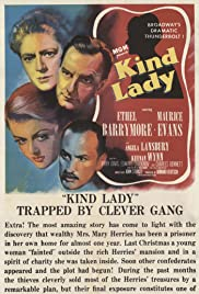 Kind Lady (1951) Poster - Movie Forum, Cast, Reviews