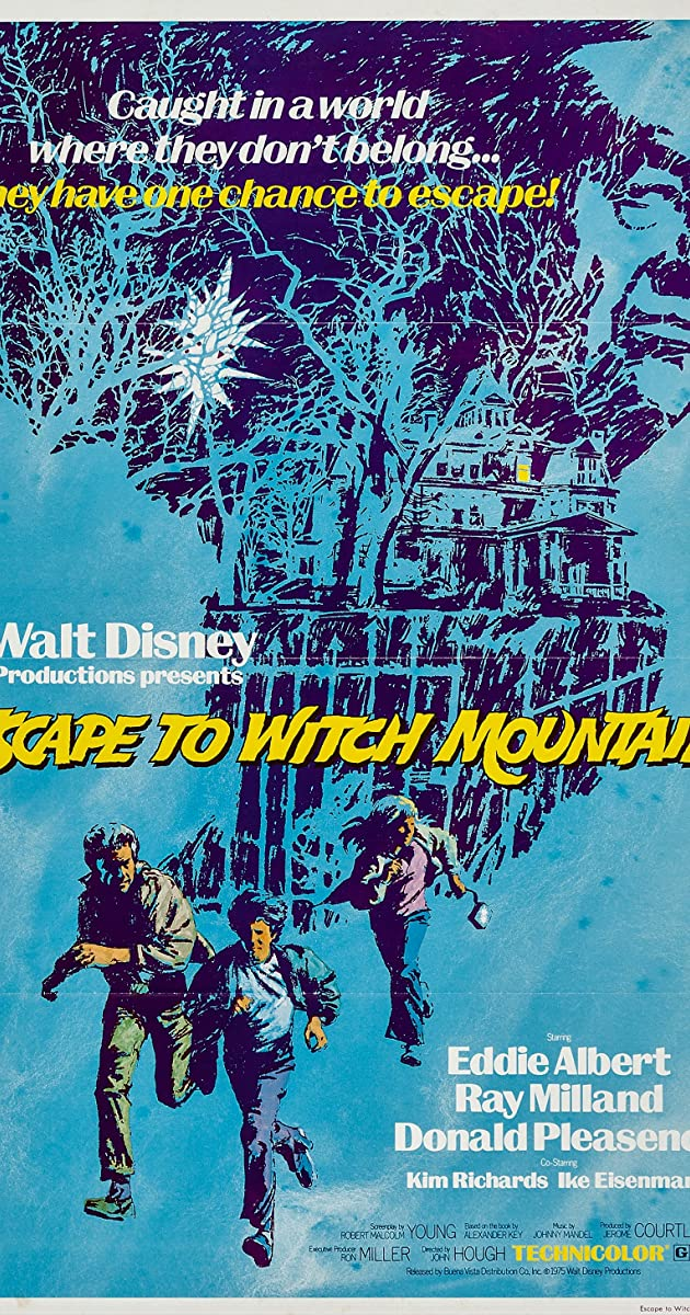 Subtitle of Escape to Witch Mountain