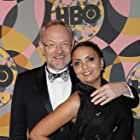 Jared Harris and Allegra Riggio at an event for 2020 Golden Globe Awards (2020)