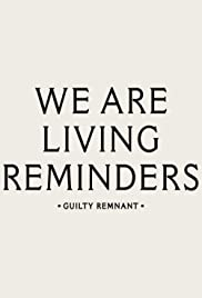 The Leftovers Season 1: Living Reminders - The Guilty Remnant Poster