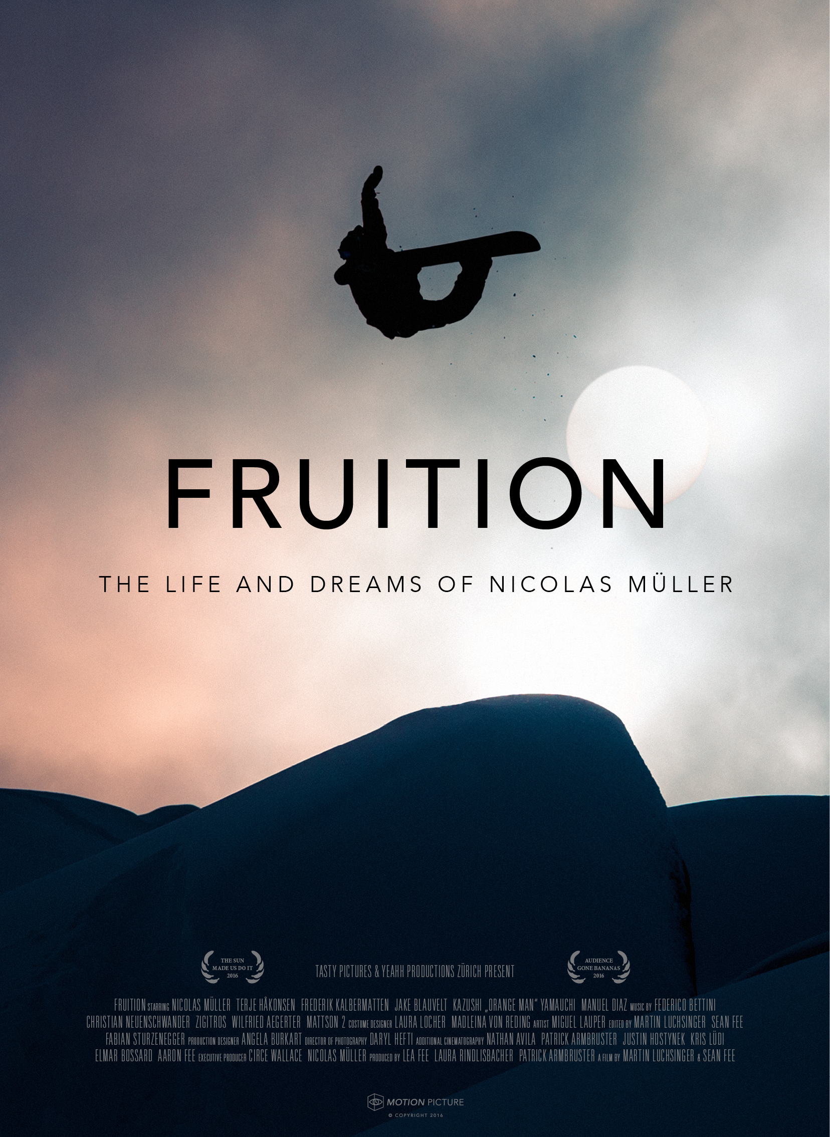 Fruition: The Life and Dreams of Nicolas Mueller on FREECABLE TV