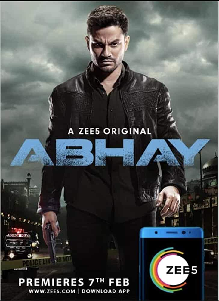Download Abhay 2019 [Season 1 – 2] ZEE5 Hindi WEB Series Complete All Episodes in Hindi 480p | 720p HDRip