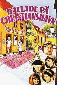 Arthur Jensen, Poul Reichhardt, Bodil Udsen, Helle Virkner, and Kirsten Walther in Ballade på Christianshavn (1971)