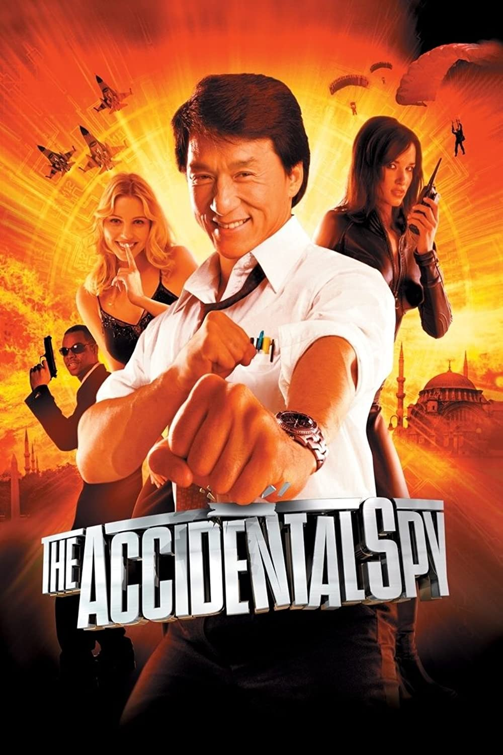 Poster film The Accidental Spy.