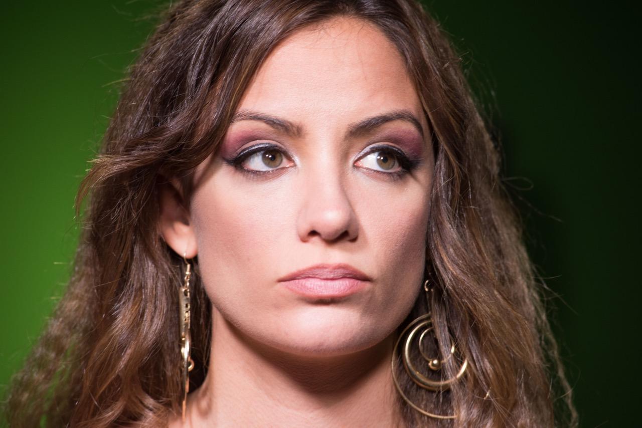 María Hervás in Call TV (2017)