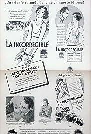 La incorregible Poster
