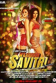 Lucy Pinder and Niharica Raizada in Warrior Savitri (2016)