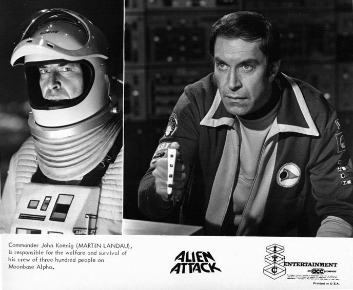 Martin Landau in Alien Attack (1976)