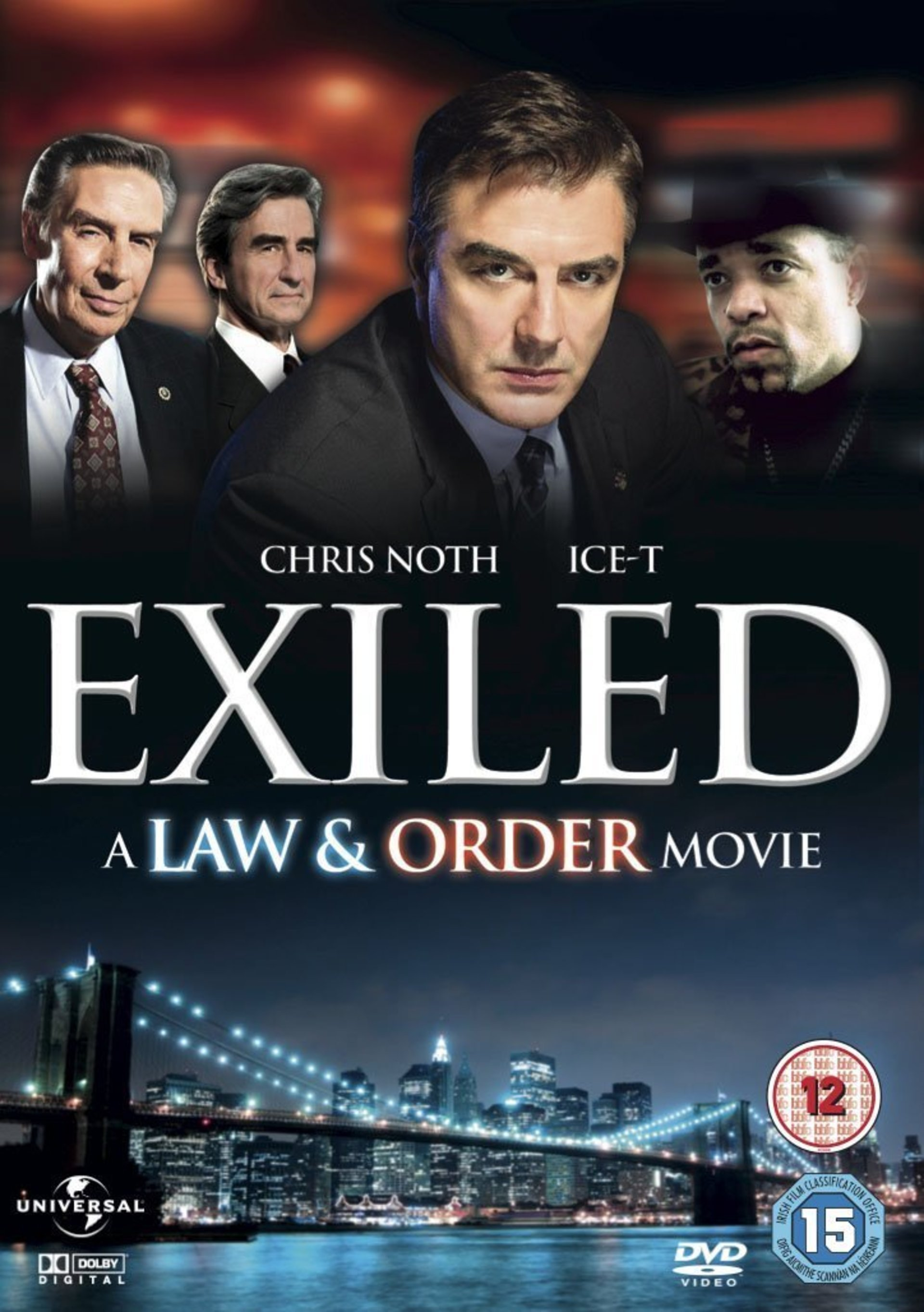 Ice-T, Jerry Orbach, Sam Waterston, and Chris Noth in Exiled (1998)