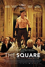 Elisabeth Moss, Claes Bang, and Terry Notary in The Square (2017)