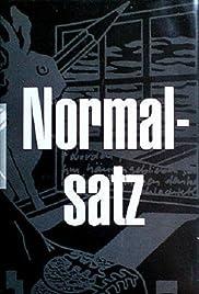 Normalsatz Poster