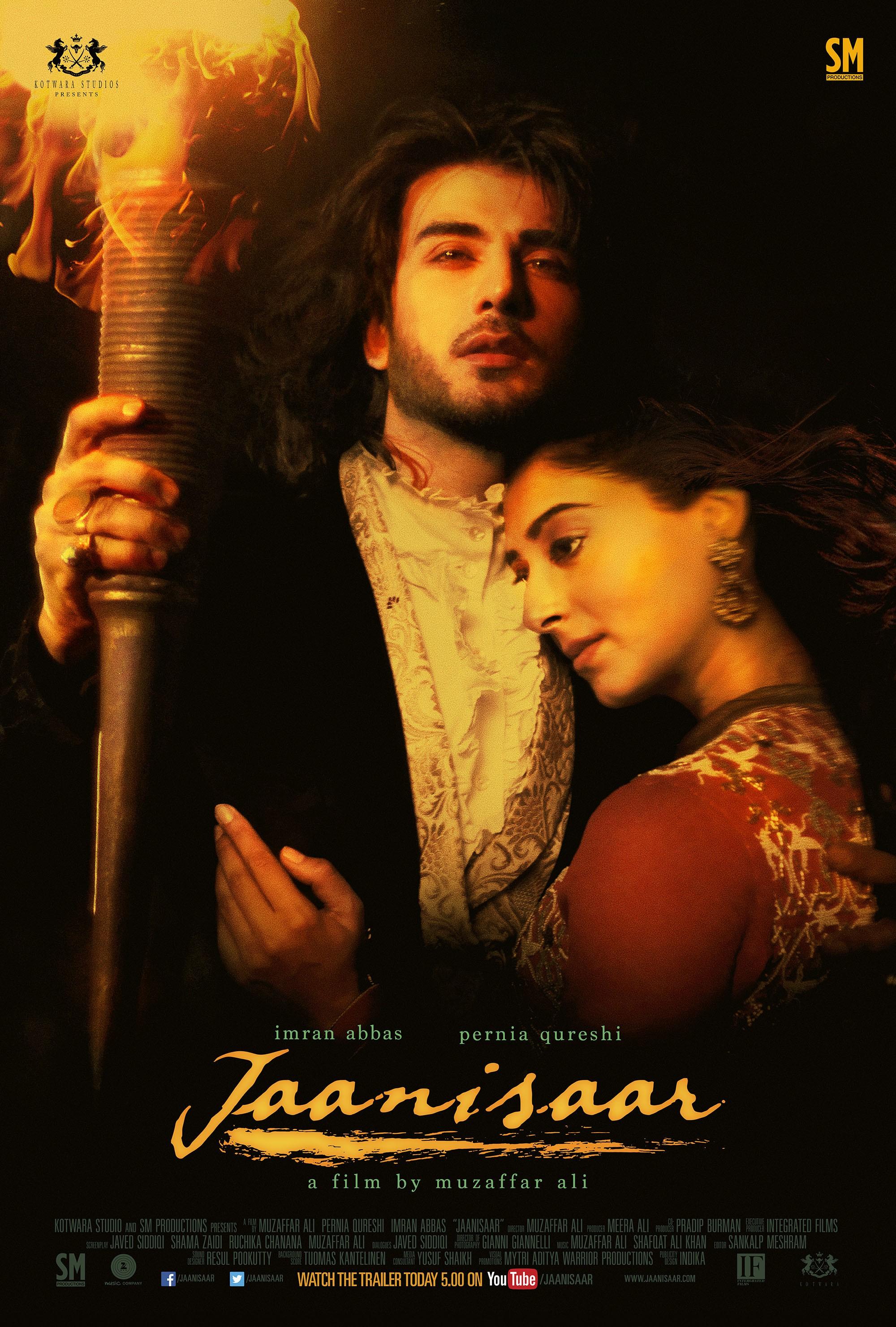 Jaanisaar (2015) Hindi 720p HEVC HDRip x265 AAC ESubs  [650MB] Full Movie Download