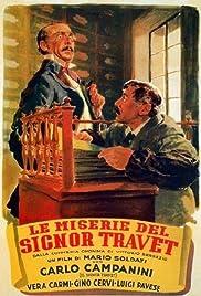 Le miserie del signor Travet Poster