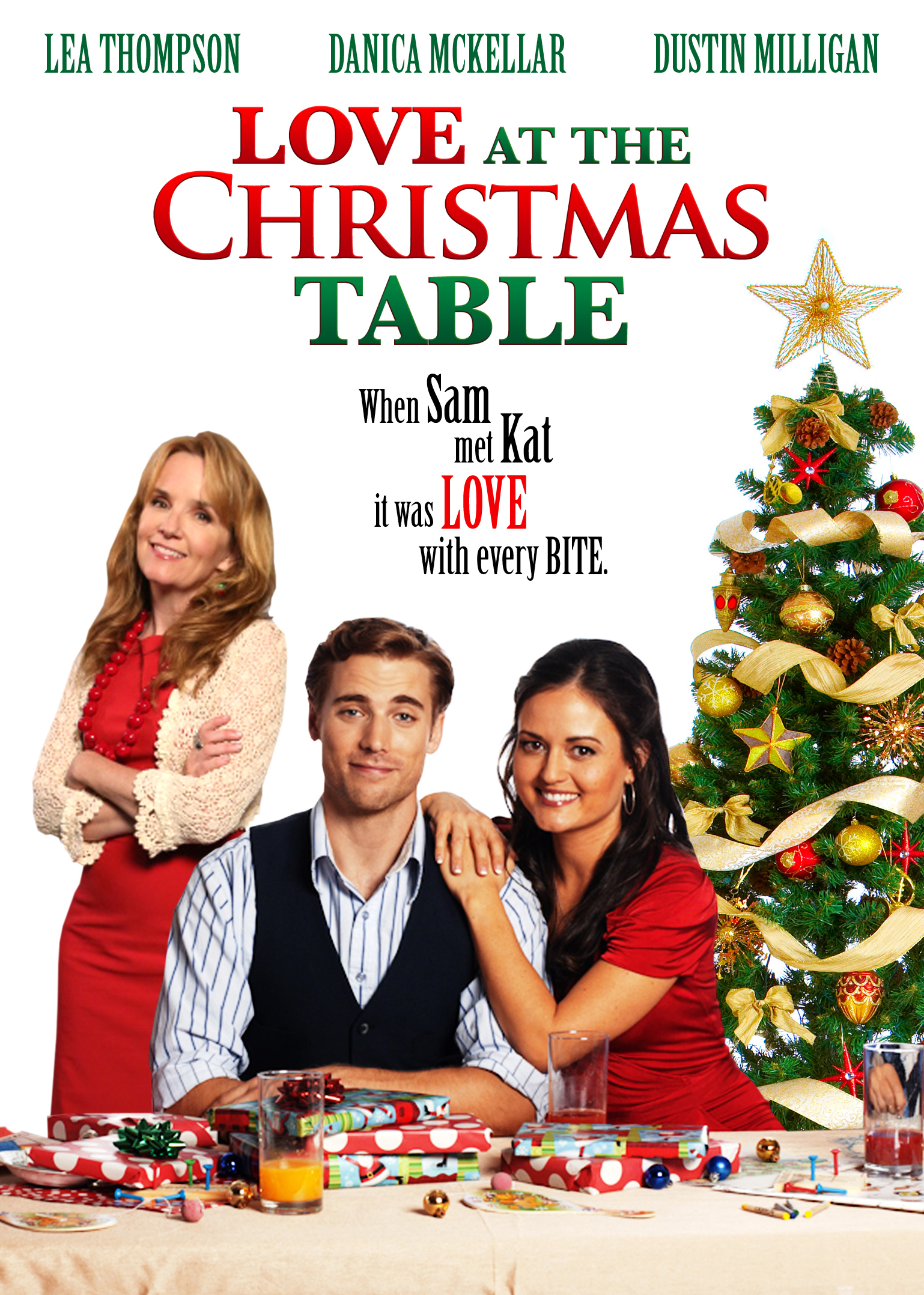 Cast Of A Christmas Kiss.Love At The Christmas Table Tv Movie 2012 Imdb