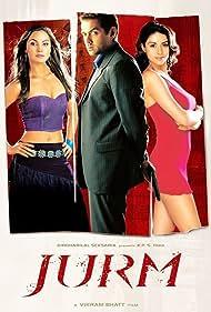 Bobby Deol, Lara Dutta, and Gul Panag in Jurm (2005)