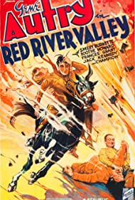 Gene Autry and Frances Grant in Red River Valley (1936)