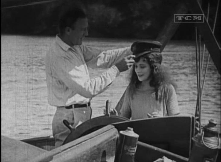 Frank Mayo and Virginia Valli in Wild Oranges (1924)