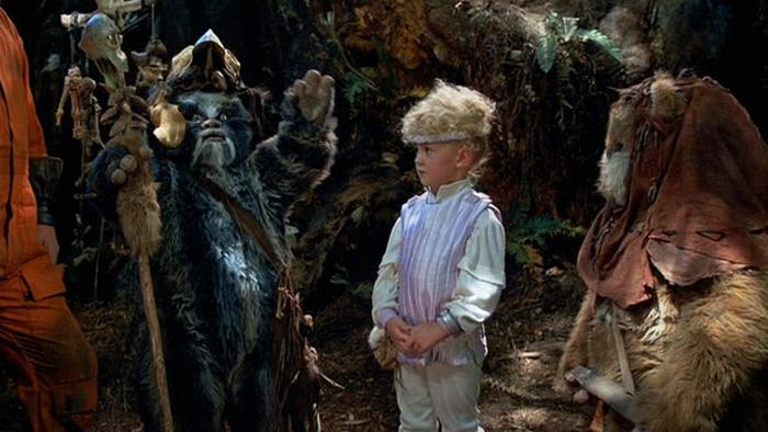 Aubree Miller in The Ewok Adventure (1984)