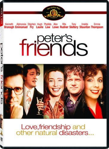 Kenneth Branagh, Stephen Fry, Emma Thompson, Hugh Laurie, and Rita Rudner in Peter's Friends (1992)