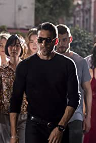 Bae Doona, Max Riemelt, Brian J. Smith, Miguel Ángel Silvestre, Tuppence Middleton, Tina Desai, Jamie Clayton, and Toby Onwumere in Sense8 (2015)