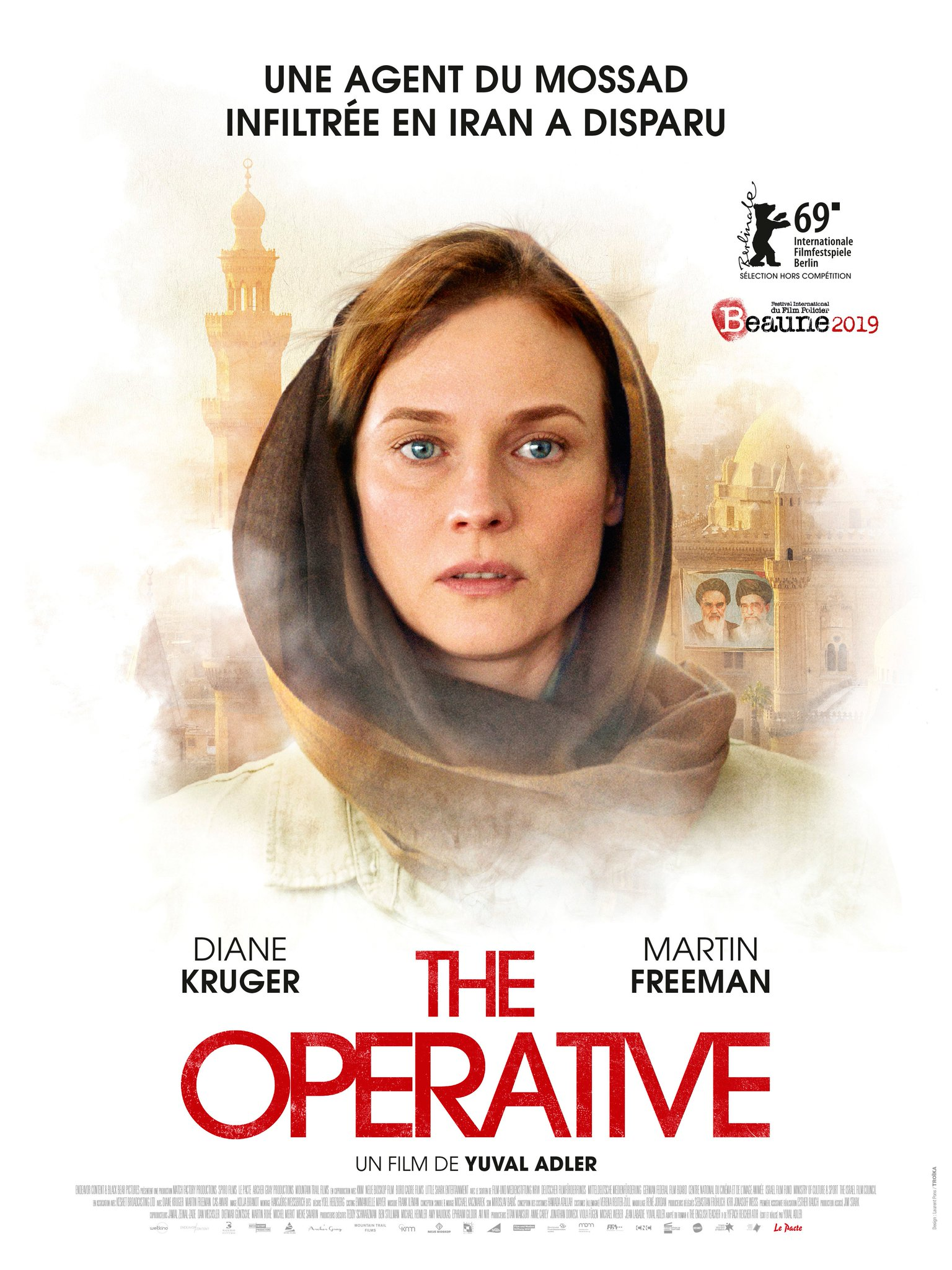 Agentė (2019) / The Operative (2019)