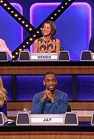 Christie Brinkley, Adam Carolla, Wendie Malick, Ana Gasteyer, Chris Colfer, and Jay Pharoah in Match Game (2016)