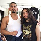"""On the set of """"BLAST BEAT"""" with the Talented Mateo Arias..."""