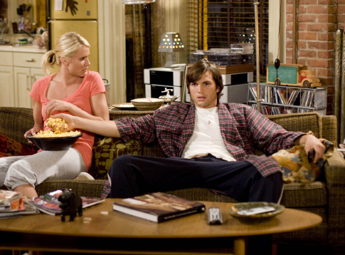 Cameron Diaz and Ashton Kutcher in What Happens in Vegas (2008)