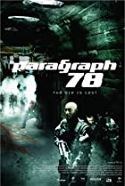 Paragraph 78 (2007) Poster