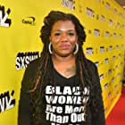 Cori Bush at an event for Knock Down the House (2019)