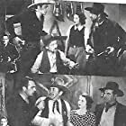 Max Davidson, Al Ferguson, Tom Tyler, and Carol Wyndham in Roamin' Wild (1936)