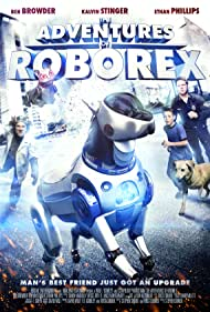 Ben Browder, Ethan Phillips, and Kalvin Stinger in The Adventures of RoboRex (2014)