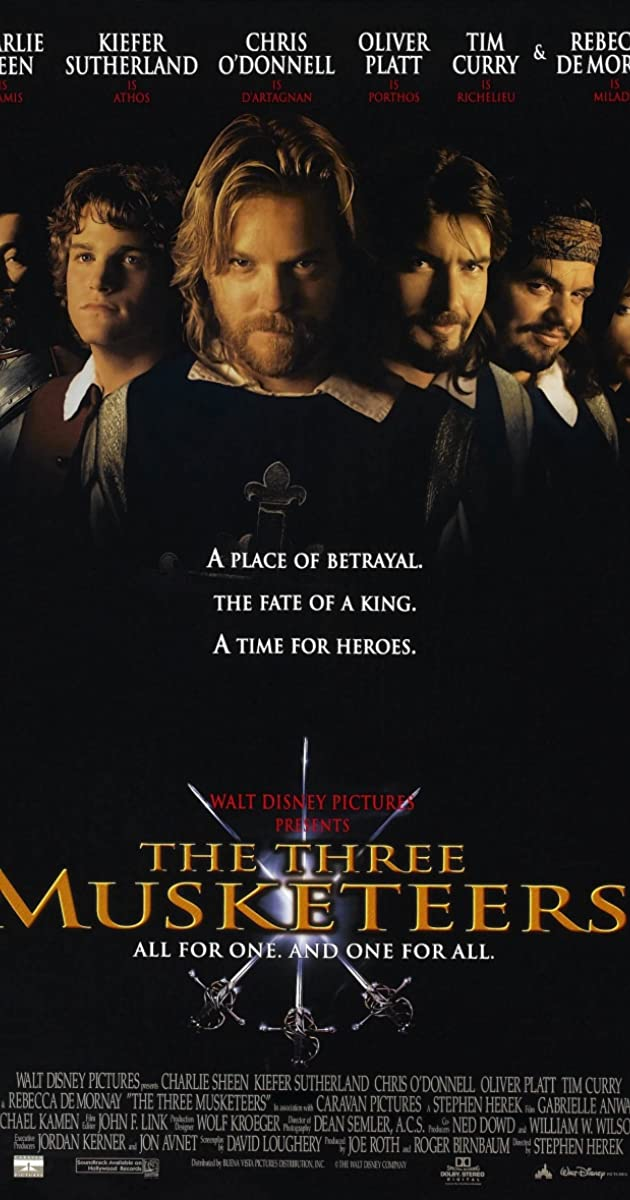 Subtitle of The Three Musketeers