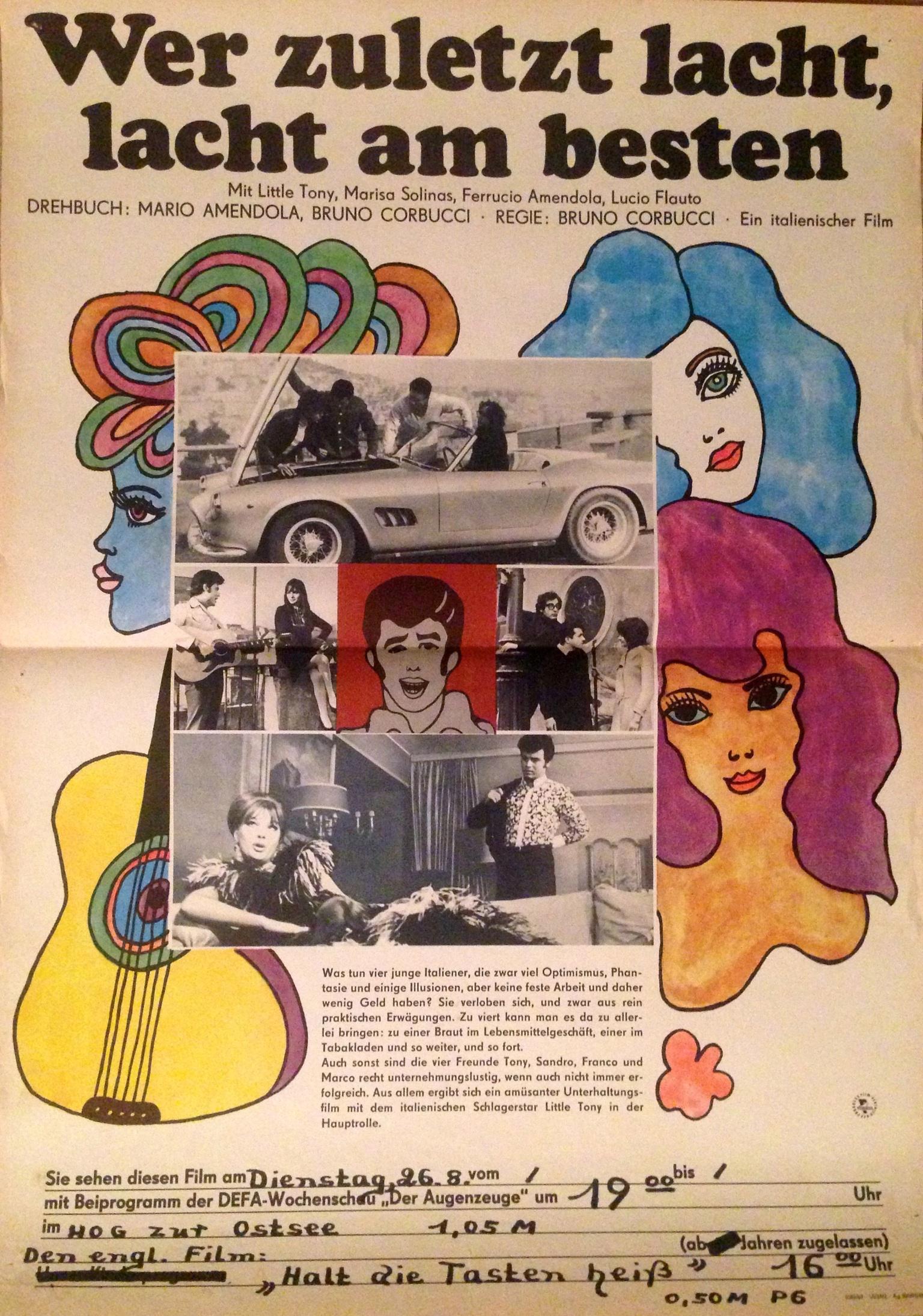 Riderà! (Cuore matto) (1967)