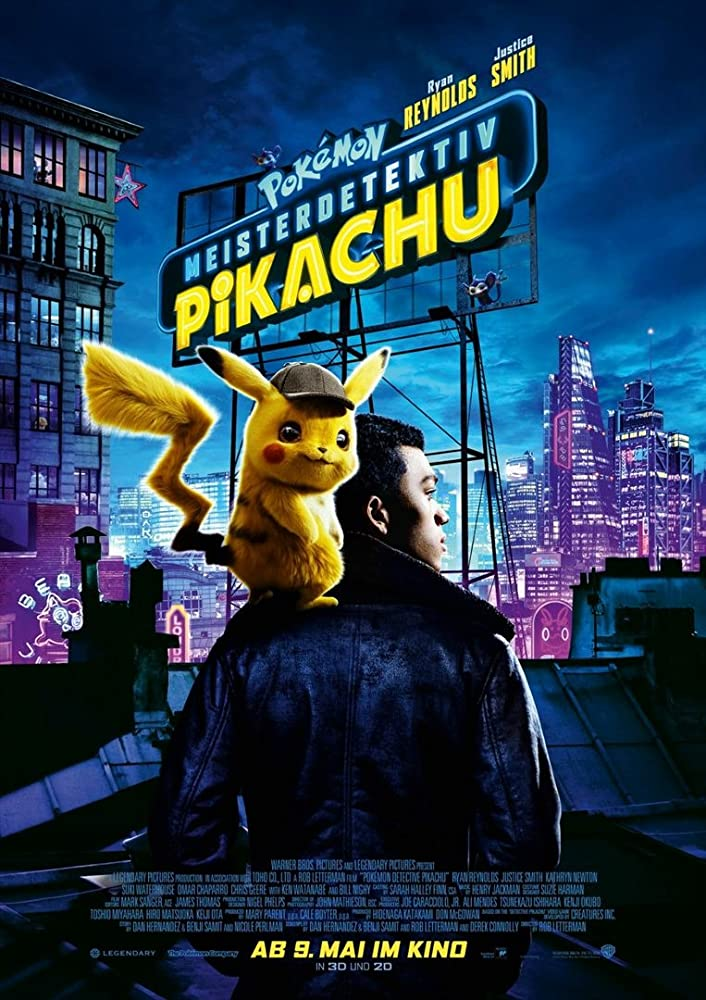 Pokémon Detective Pikachu (2019) English 720p