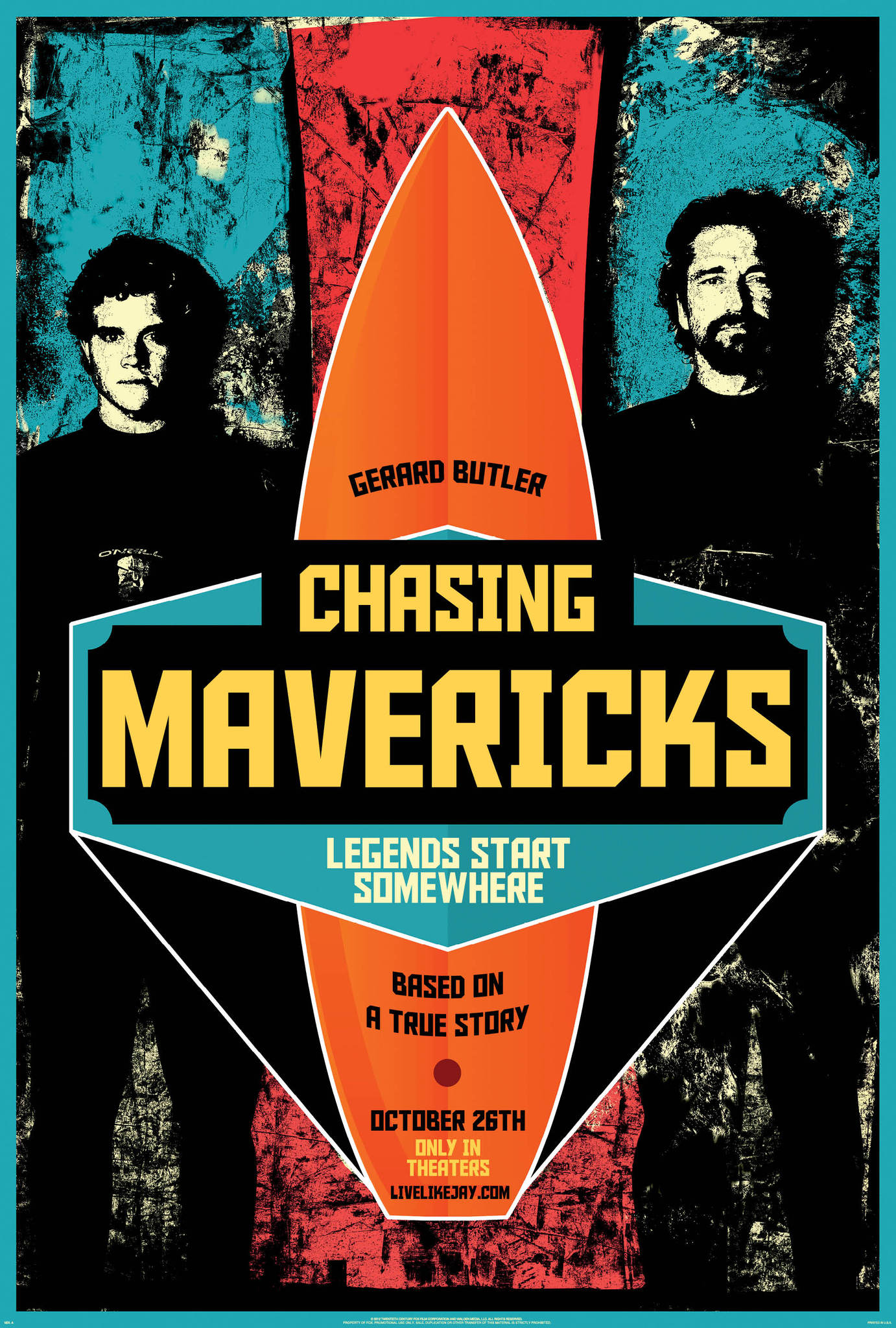 chasing mavericks french