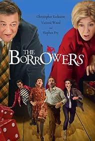 Stephen Fry, Christopher Eccleston, Victoria Wood, Sharon Horgan, Aisling Loftus, and Robert Sheehan in The Borrowers (2011)