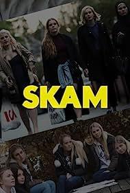 Josefine Frida Pettersen, Ulrikke Falch, Lisa Teige, Iman Meskini, and Ada Eide in Skam (2015)